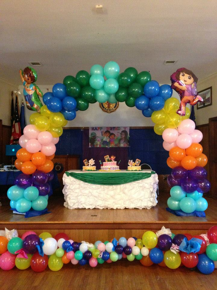 Balloon decoration rb planners for Balloon decoration courses