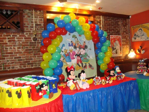Mickey Mouse Themed Birthday Party RB Planners
