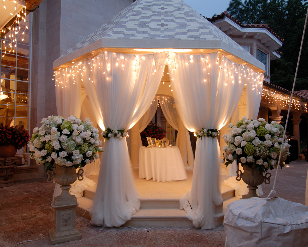 Gazebo Wedding Decorations And Themes Rb Planners