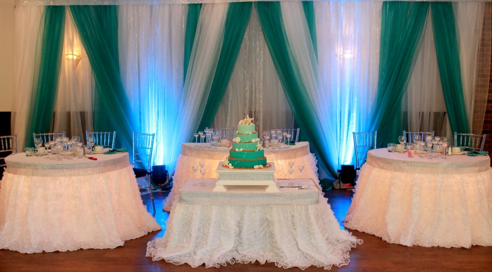 under the sea wedding decorations rb planners toronto s wedding planners and decorators 8158
